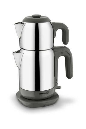 KORKMAZ Demtez Satin/gri Elektrikli Çaydanlık