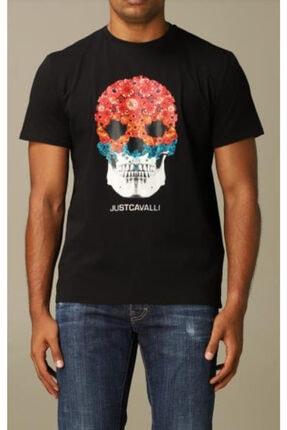 Just Cavalli T-shirt With Skull Print