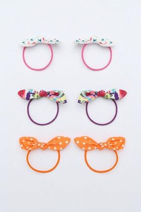 Penti Çok Renkli Kız Çocuk Dots Bow Toka