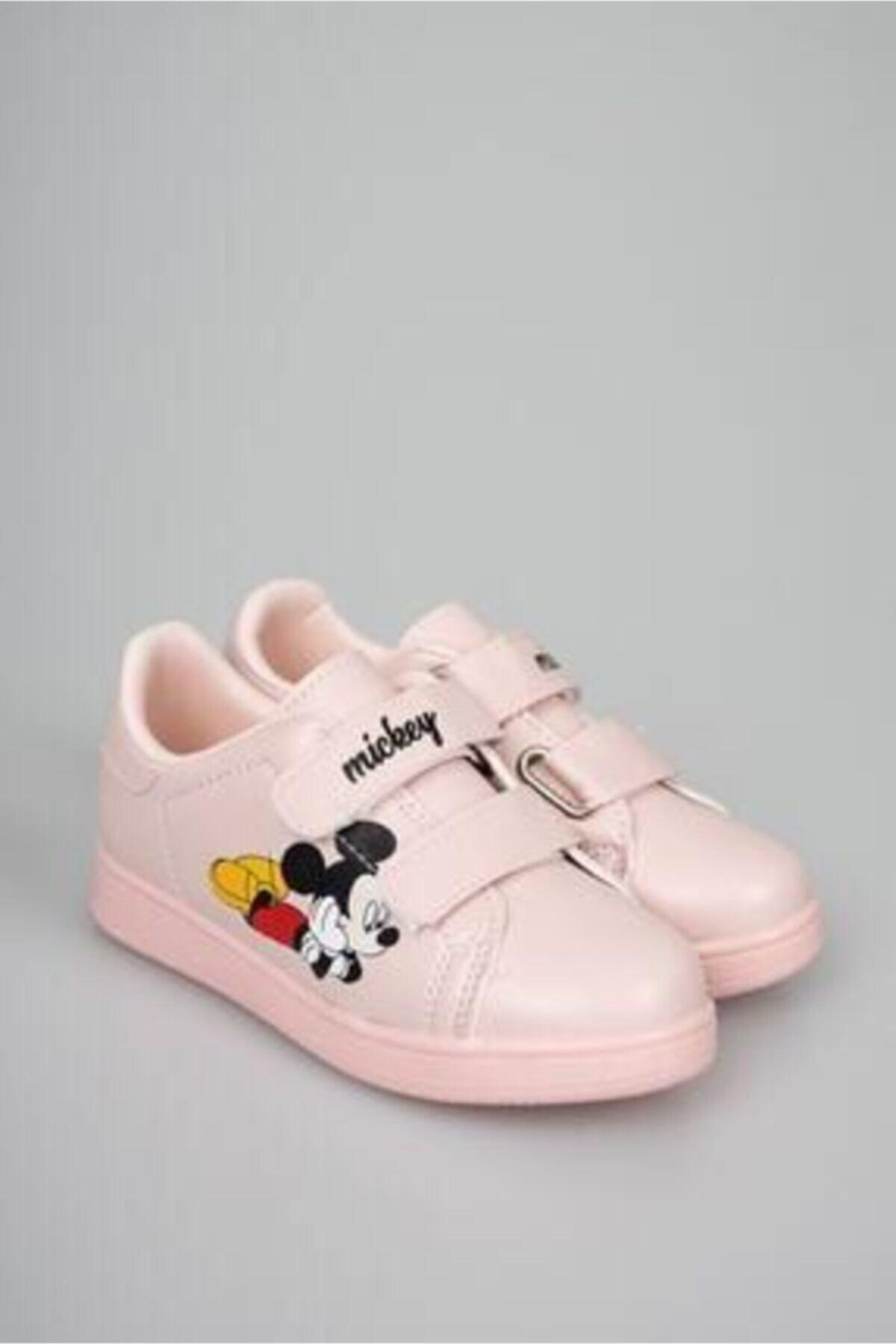 Talika Unisex Çocuk Pudra Cırtlı Günlük Spor Ayakkabı 1