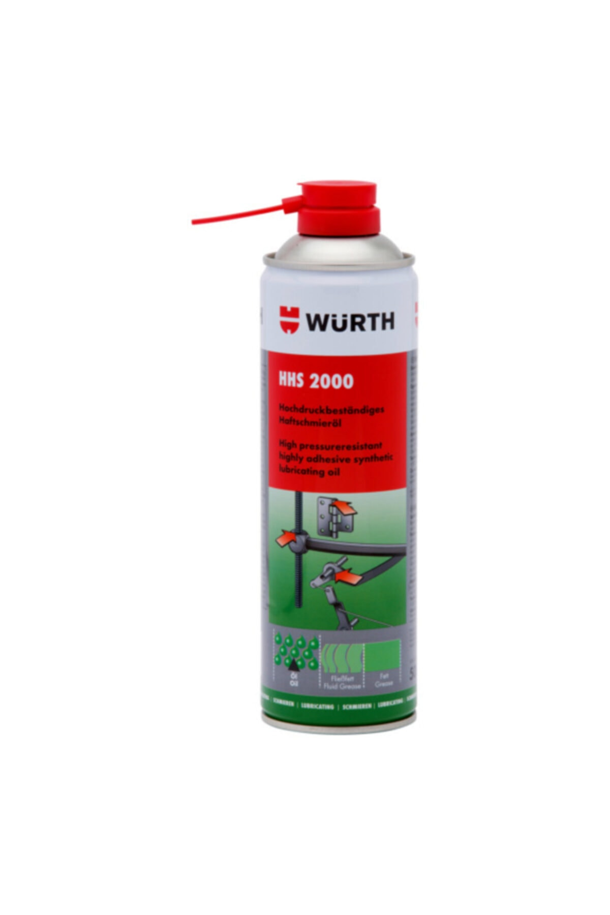 Würth Hhs 2000 Sıvı Gres 500 Ml 0893 106 1