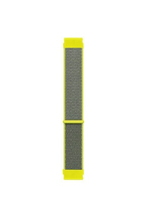 Microsonic Haylou Solar Ls05 Hasırlı Kordon Woven Sport Loop Sarı