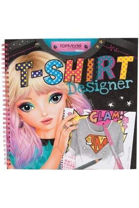 Top Model T-shirt Dizayn Boyama Kitabı 5469