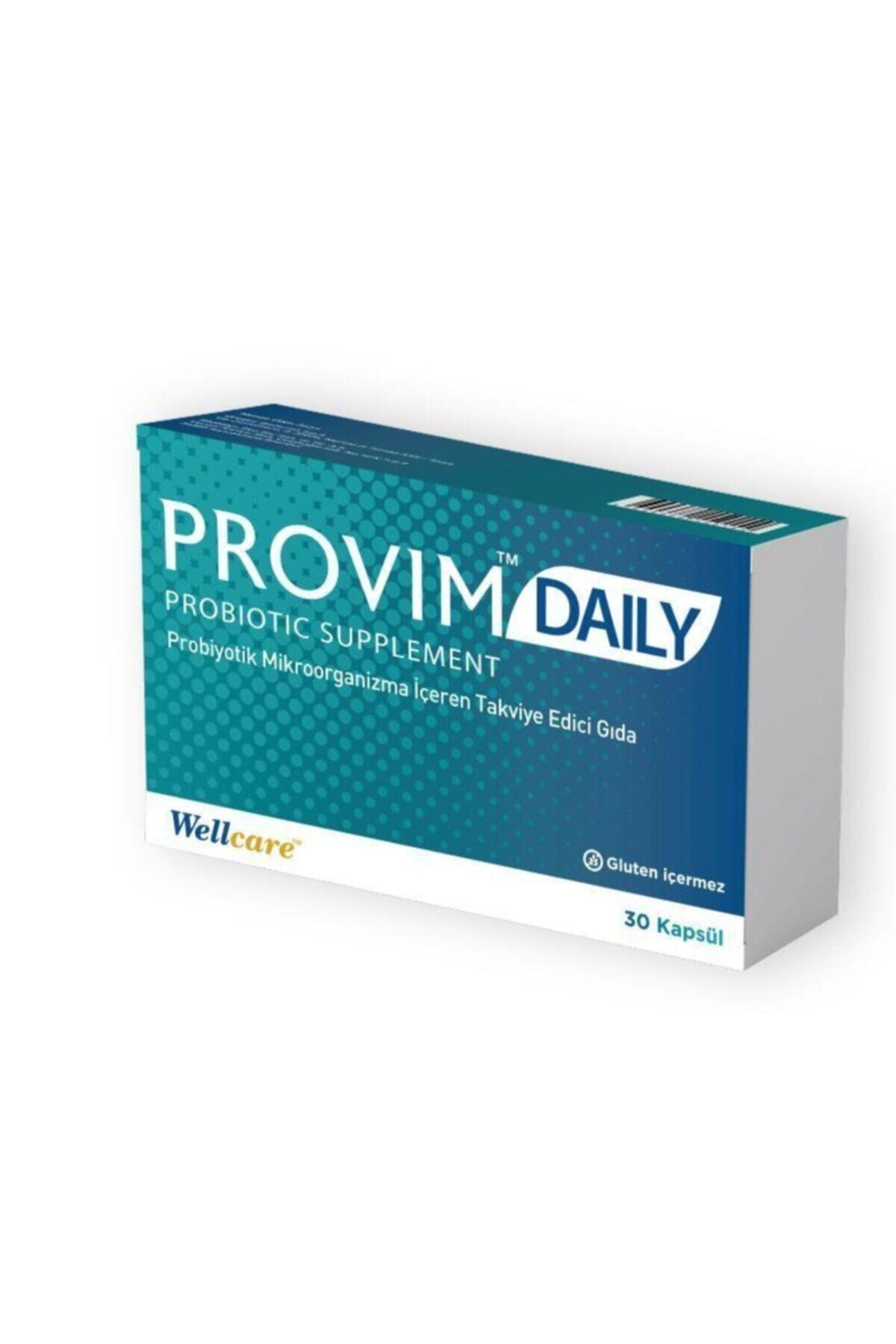 Wellcare Provim Daily 30 Kapsül Probiyotik 1