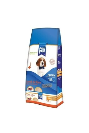 Paw Paw Puppy Kuzu Etli Ve Pirinçli Yavru Köpek Maması 15 Kg