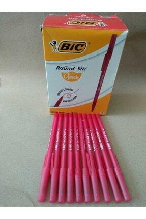 Bic Round Stic Tükenmez Kalem Kırmızı - 10 Adet