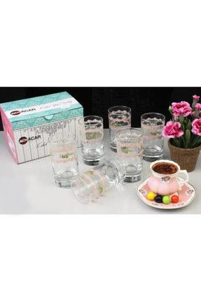 ACAR Kahve Yanı Su Bardağı 6'lı Acr-032