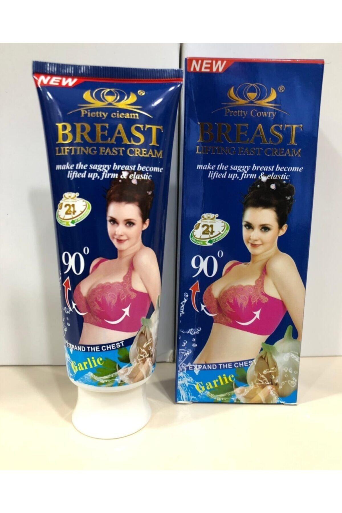 BREASTLIGHT Breast Garlie Özlü Göğüs Büyütücü, Dikleştirici Krem 1
