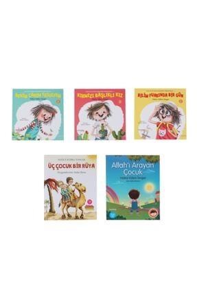 Hayykitap Hatice Kübra Tongar 5+ Yaş Manevi Eğitim Seti 5 Kitap -zuzu Set - Allah'ı Arayan Çocuk - Üç Çocuk