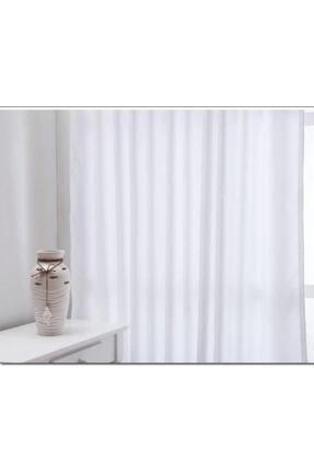 ALTINPAMUK Atlas Saten Güneşlik Perde Enxboy Seçenekli Beyazz