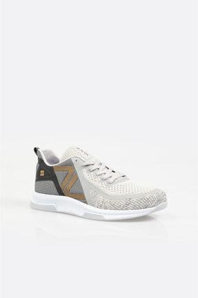 Avva Erkek Koyu Gri Yazı Detaylı Spor Ayakkabı A11y8001
