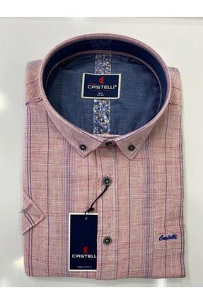 Castelli Kısa Kol Pamuklu Gömlek