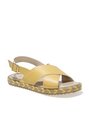 Polaris 91.313641.Z 1FX Sarı Kadın Sandalet 101016750