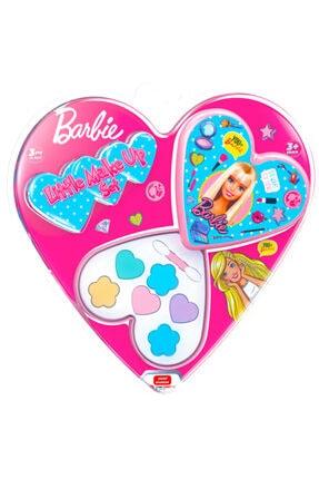 Uçar Oyuncak Barbie Lisanslı Sürülebilir Makyaj Seti (kalpli)