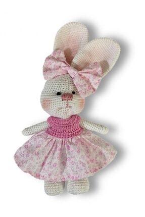 İlmek Bebek Amigurumi El Örgüsü Oyuncak Tavşan Beti
