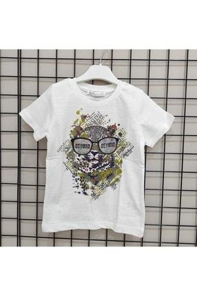 NK Erkek Çocuk Hologram Gözlüklü T-Shirt