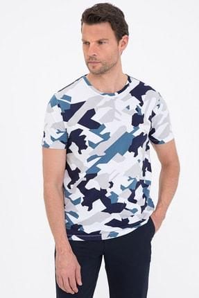 Pierre Cardin Koyu Mavı Erkek T-Shirt G021SZ011.000.1201157