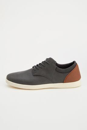 DeFacto Erkek Suni Deri Bağcıklı Ayakkabı
