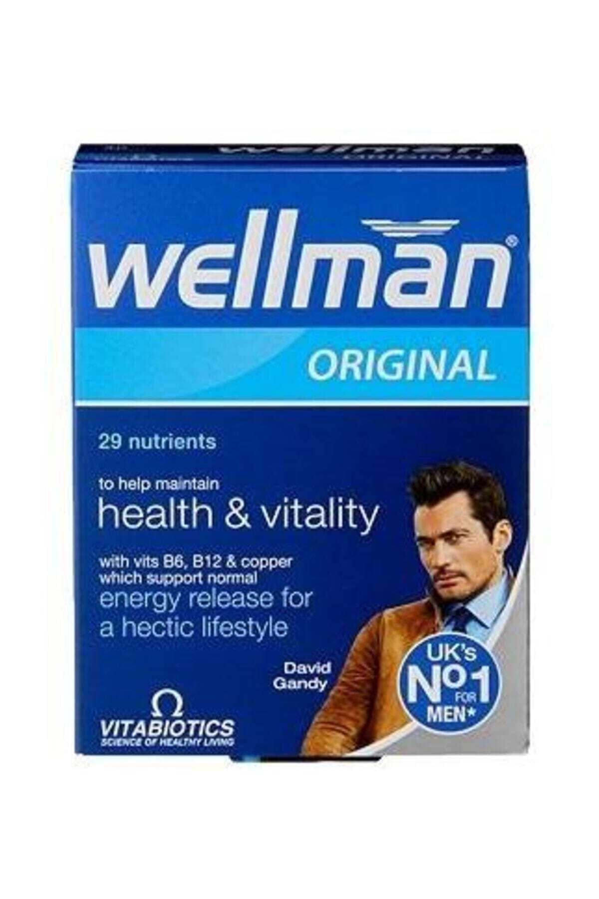 Wellman Vitabiotics Erkek Için 30 Tablet 1