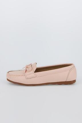 DeFacto Kadın Pembe Suni Deri Loafer Ayakkabı