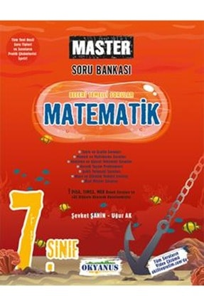 Okyanus Yayınları Okyanus 7.sınıf Master Matematik Soru Bankası