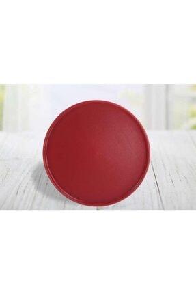 Keramika Stackable 27 Cm Servis Tabağı Mat Artıstık Carmen Kırmızı