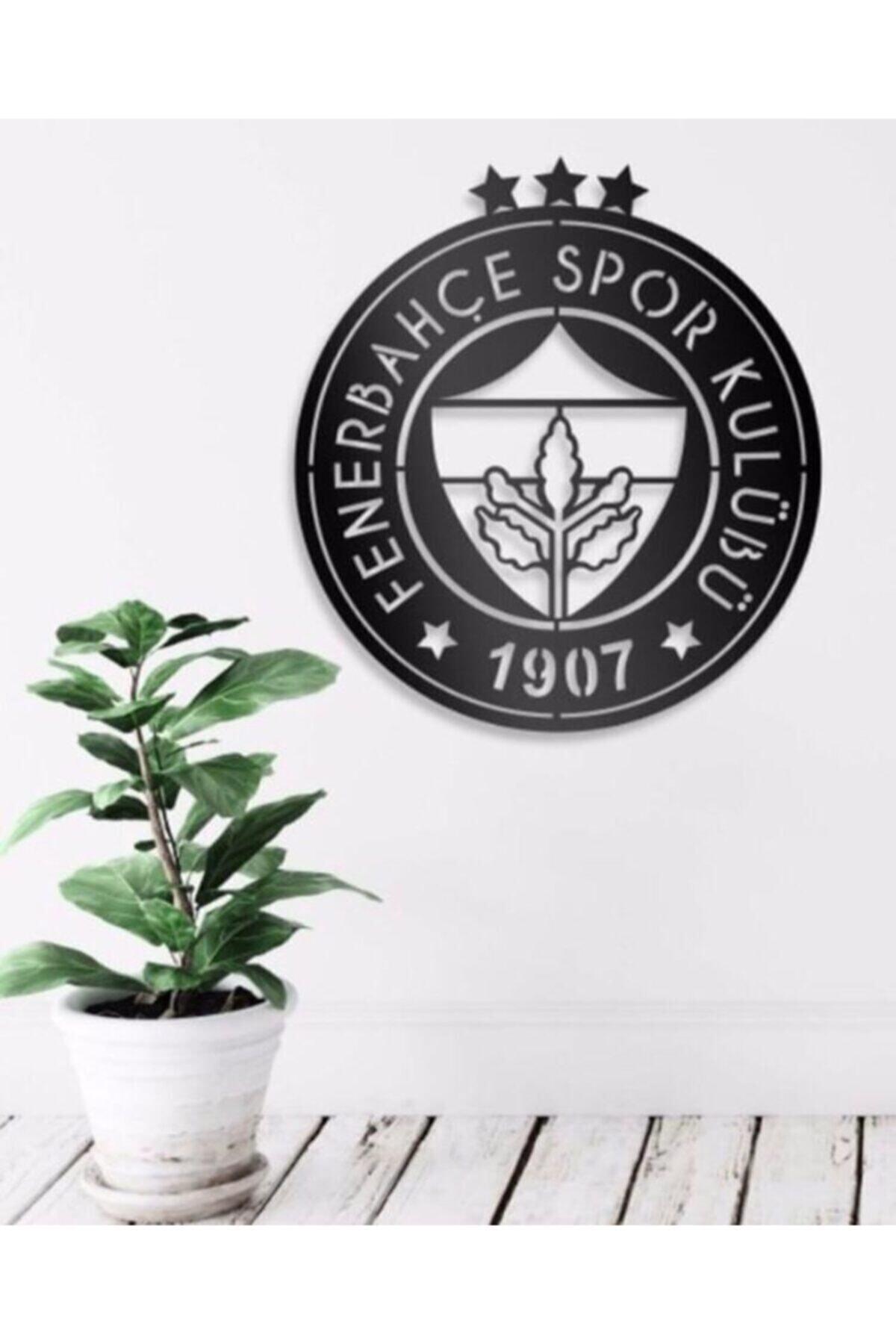 RetroLazer Fenerbahçe Logolu Mdf Tablo Evinize Ofisinize Yeni Tarz Wall 1