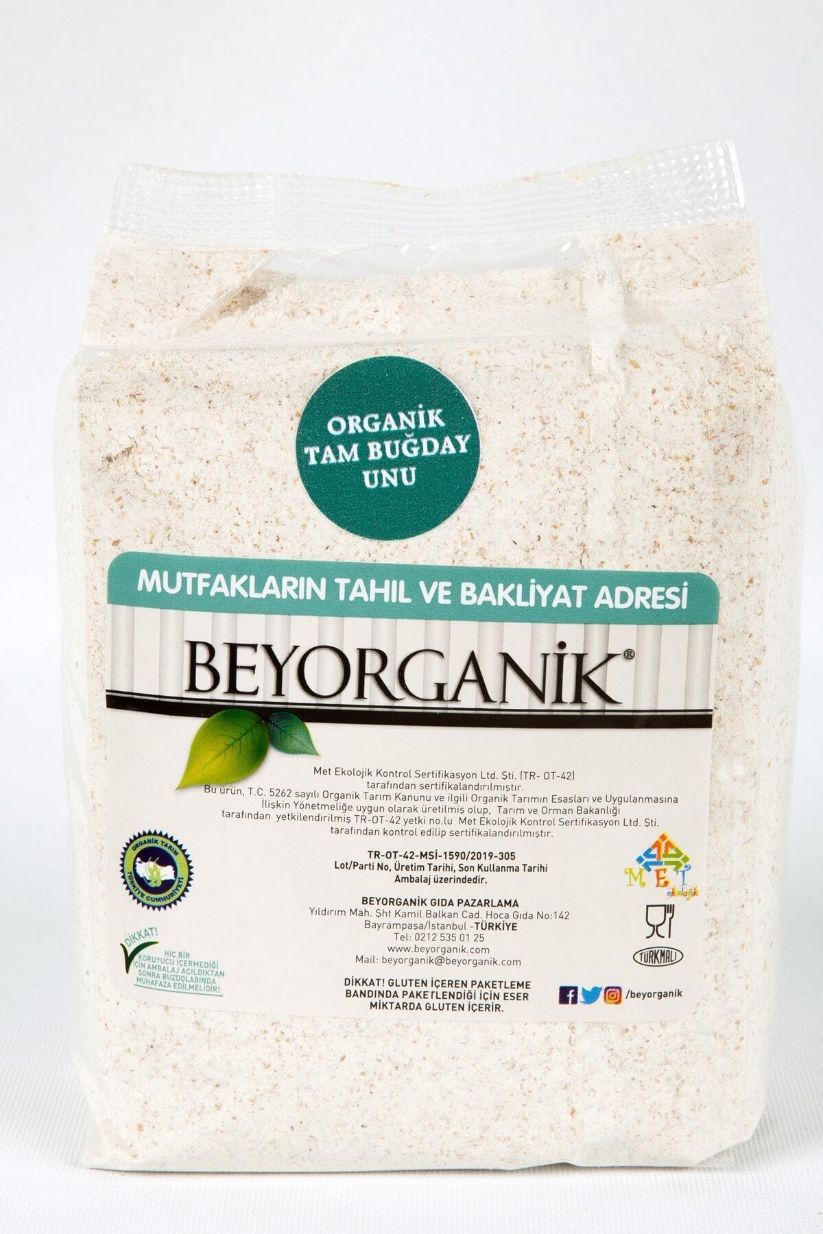 BEYORGANİK Organik Tam Buğday Unu 870 G 1