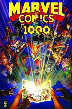 Gerekli Şeyler Yayıncılık Marvel Comıcs 1000