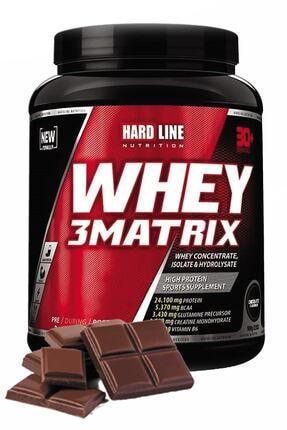 Hardline Whey 3 Matrix Çikolata Çikolatalı 908 gr Protein Tozu Kas Bcaa Aminoasit