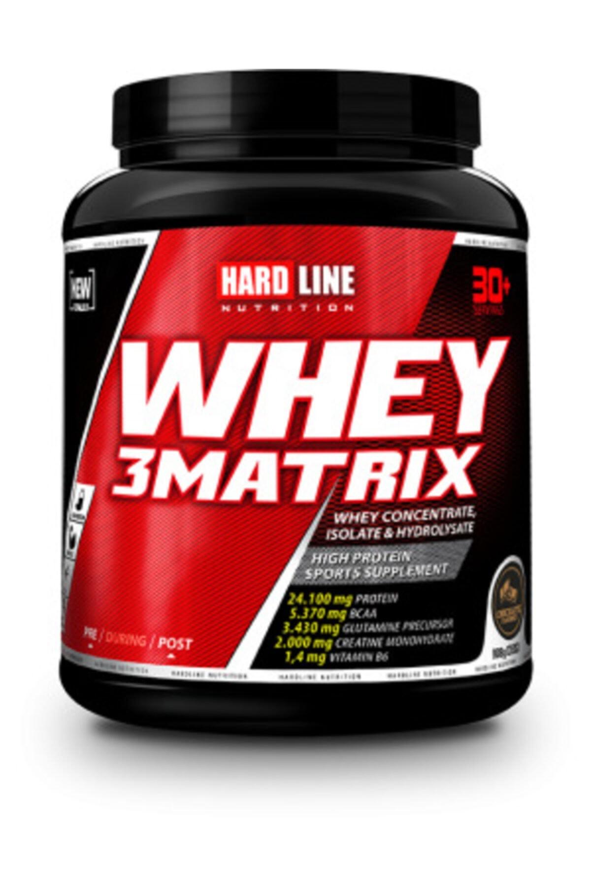 Hardline Whey 3matrix 908 G - Çikolata 1