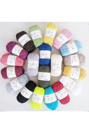 Kezban Tekstil Hobby Clb %100 Pamuk Punch (PANÇ) Ve Amigurumi Ipi Seti 20 Adet