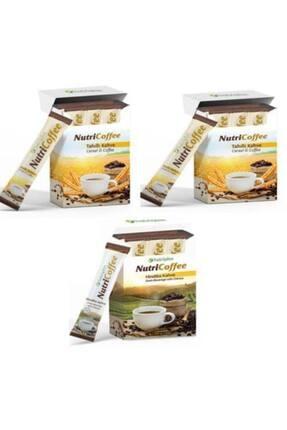 Farmasi Nutricoffee Tahıllı Kahve 2 Paket + 1 Paket Hindiba Kahve 16x3 Gr