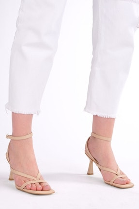 Marjin Kadın Parmak Arası Topuklu Sandalet Bitebej