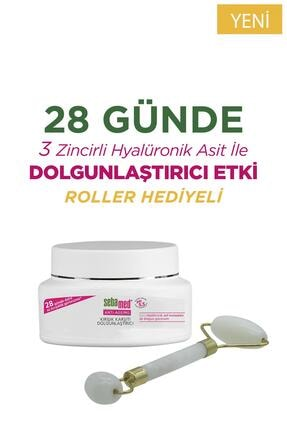 Sebamed Wrinkle Filler Kırışık Karşıtı Dolgunlaştırıcı Krem 50 ml Roller Set