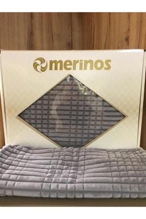 Merinos Modern Line 3 Parça Yatak Örtüsü Battaniye Seti