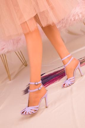 SOHO Lila Kadın Klasik Topuklu Ayakkabı 16182