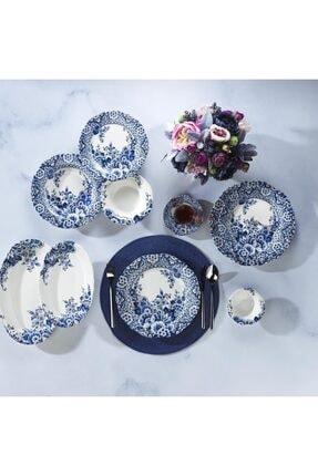 Schafer Mavi Yemek  Kahvaltı Takımı-50 Parça