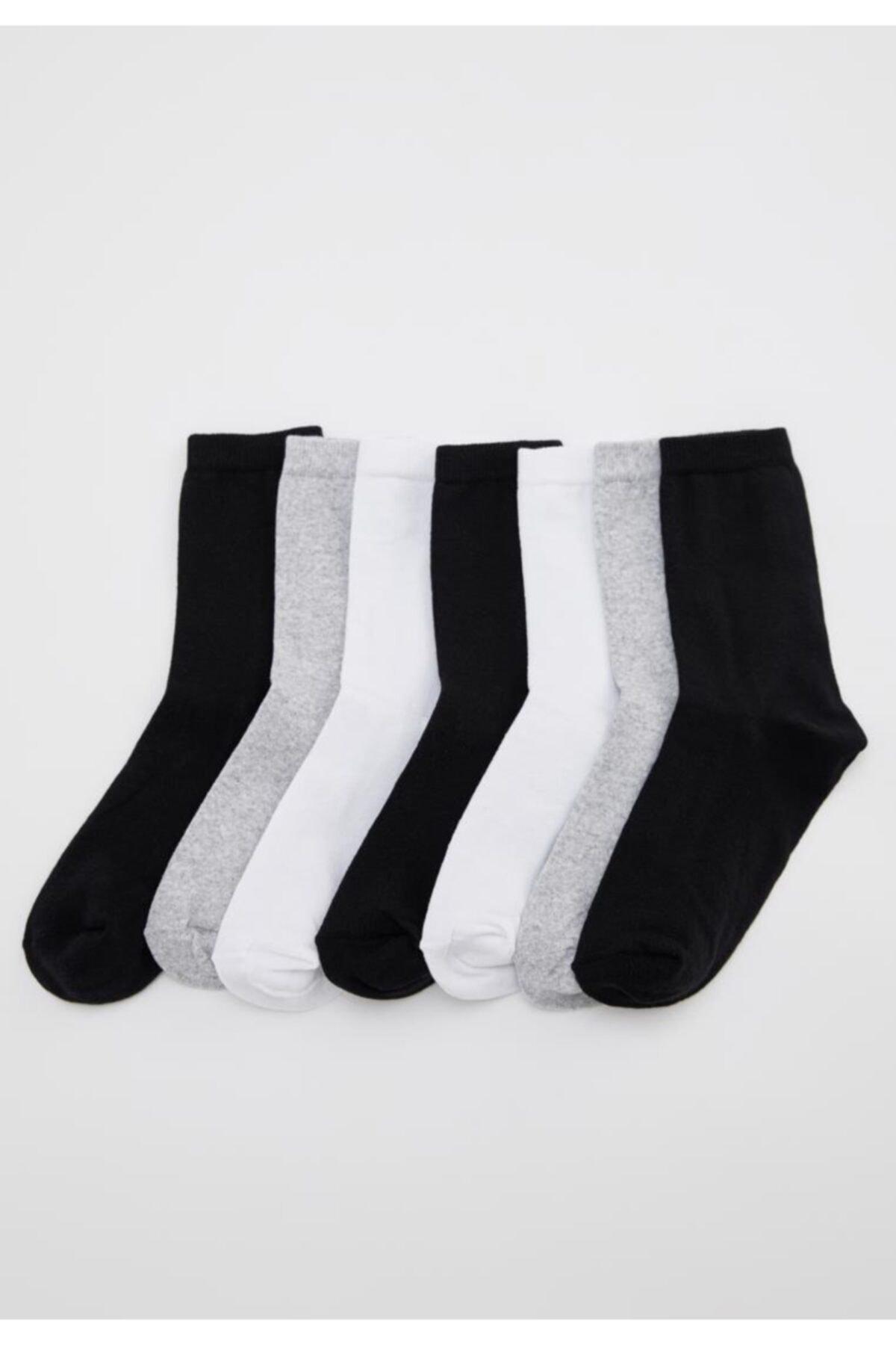 DeFacto Soket Çorap 7'li 1
