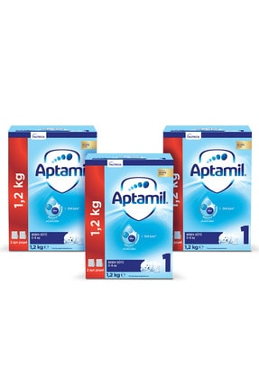 Aptamil 1 3'lü 1200 Gr Mega Paket