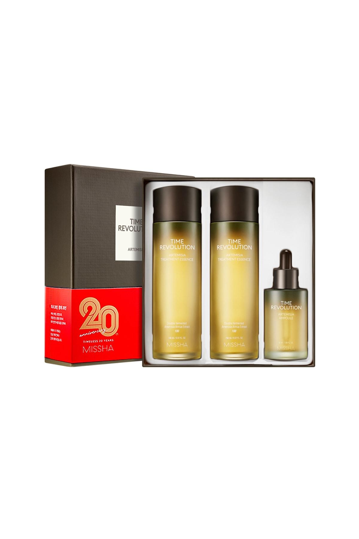 Missha Hassas Ciltler İçin Kızarıklık karşıtı Esans&Serum Seti Time Revolution Artemisia Best Special Set