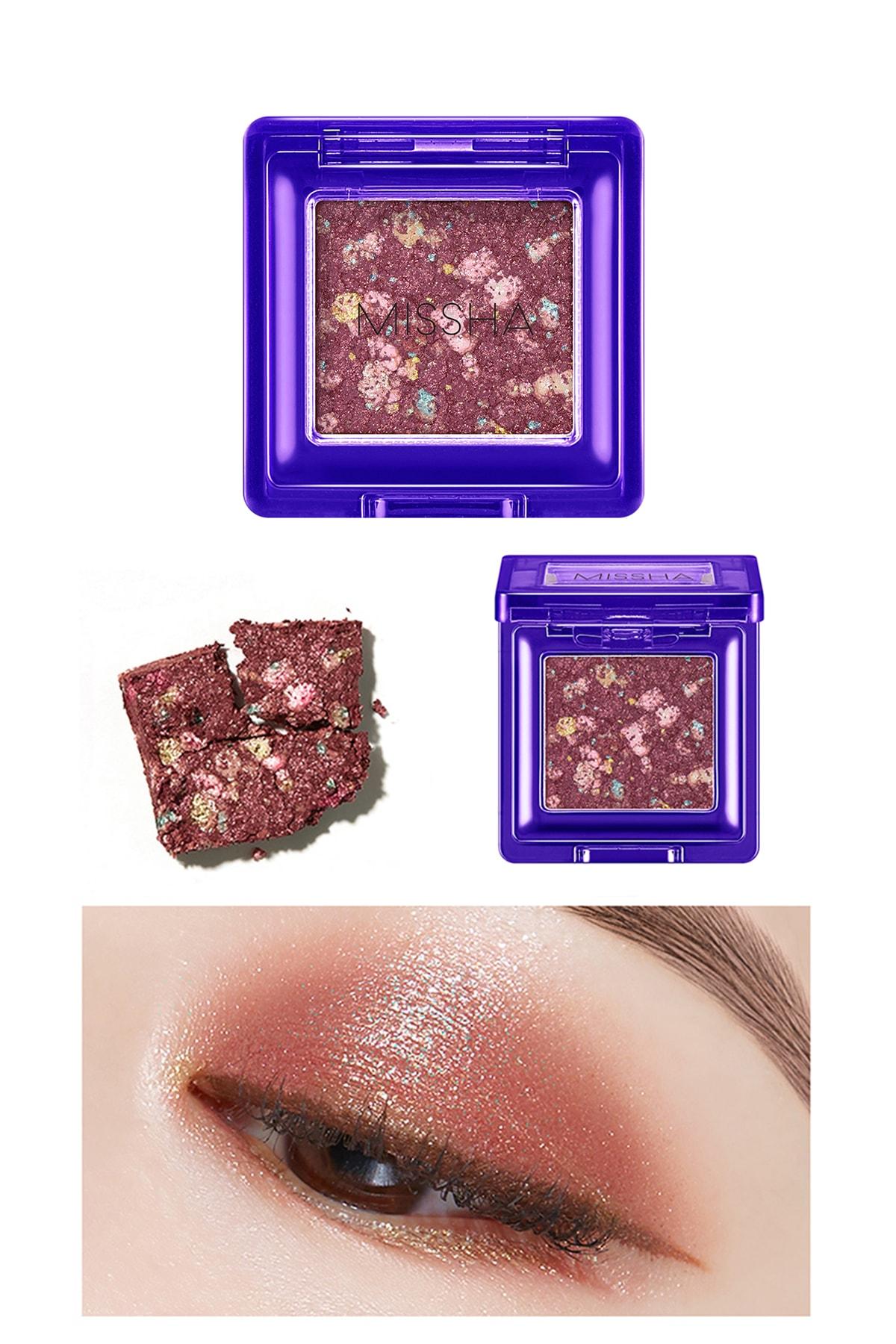 Missha Yoğun Pigmentli Parıltılı Metalik Tekli Far MISSHA Glitter Prism Metal (No.5)