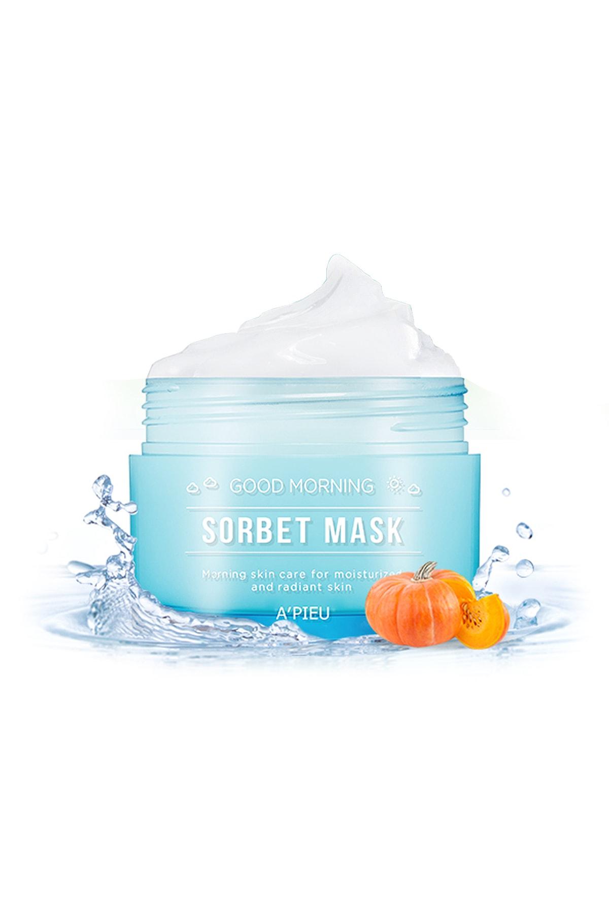 Missha Nemlendirici Sabah Bakım Maskesi 105ml APIEU Good Morning Sorbet Mask