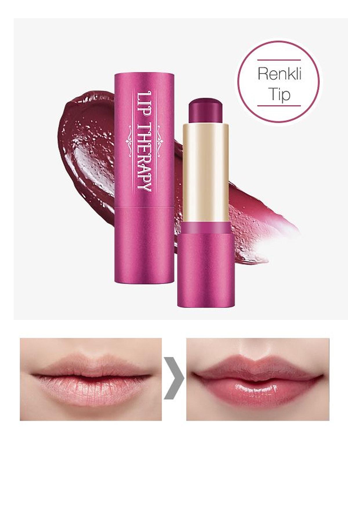 Missha Nemlendirici Bakım Sağlayan Dudak Balmı APIEU Lip Therapy (Dear Plum)