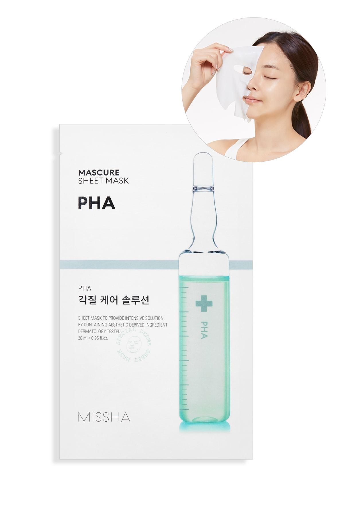Missha Pha Ölü Deri Arındırıcı Yaprak Maske (1ad) Mascure Peeling Solution Sheet Mask