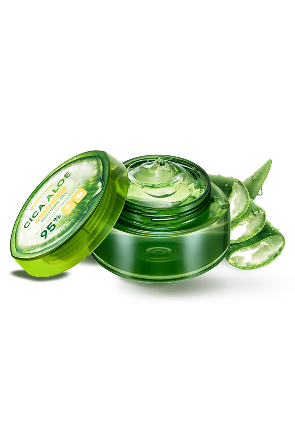 Missha %95 Cica Aloe Kompleksi İçeren Nemlendirici Jel 300ml Premium Cica Aloe Soothing Gel