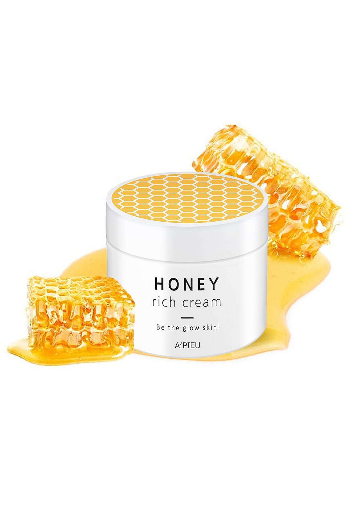 Missha Manuka Balı Yoğun Nemlendirici Besleyici Bakım Kremi 110ml APIEU Honey Rich Cream