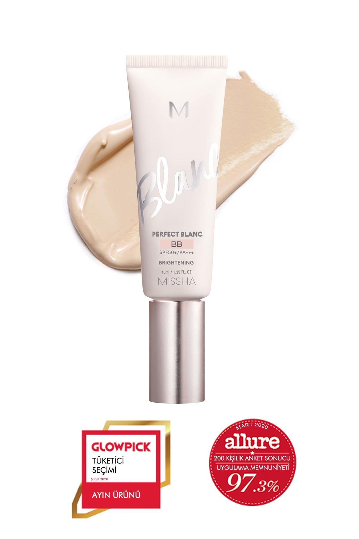 Missha Aydınlatıcı&Ton Eşitleyici BB Krem 40ml SPF50+ MISSHA M Perfect Blanc BB (Rosy / No.23)