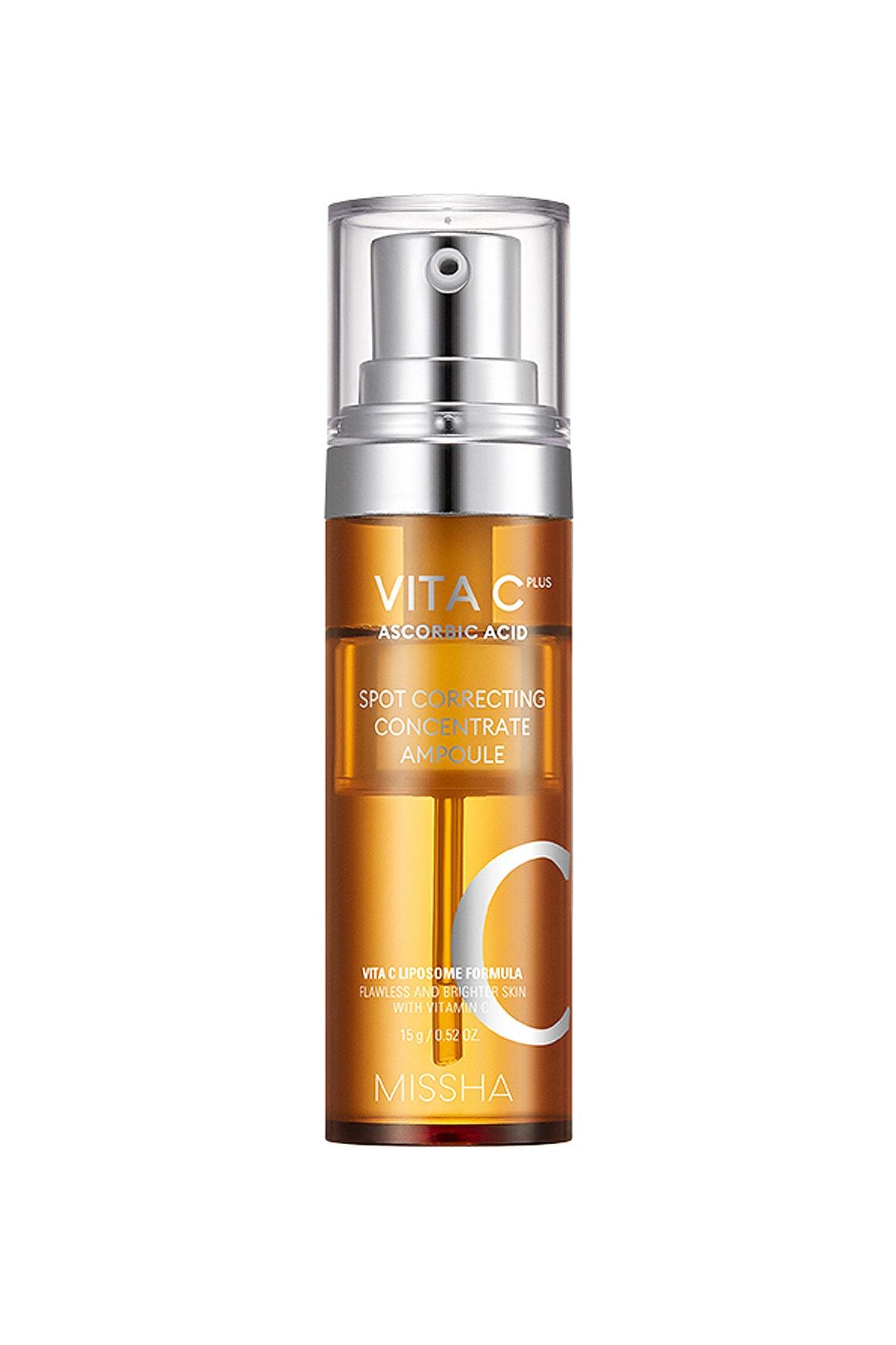 Missha Leke Karşıtı Konsantre C Vitamini Serumu 15g Vita C Plus Correcting Concentrate Ampoule
