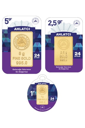 Ahlatcı 24 Ayar-8.5 Gram Külçe Altın